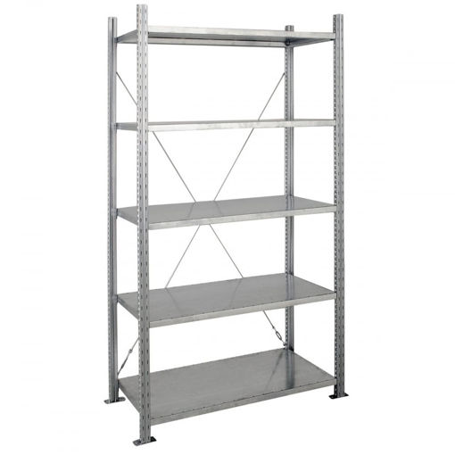 Picture of Heavy Duty Galvanised Shelving Starter Bays