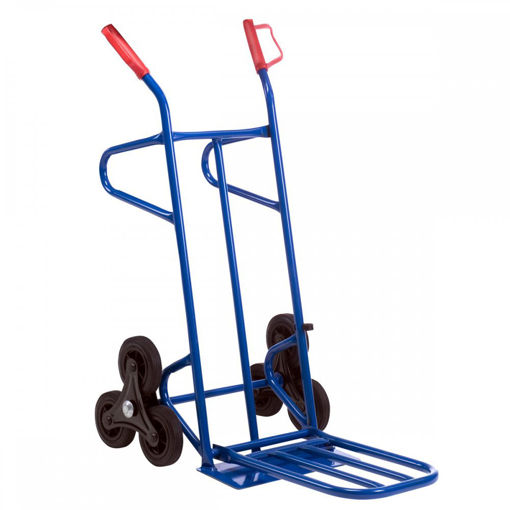 Picture of Twin Footplate Stairclimber Heavy Duty Sack Truck
