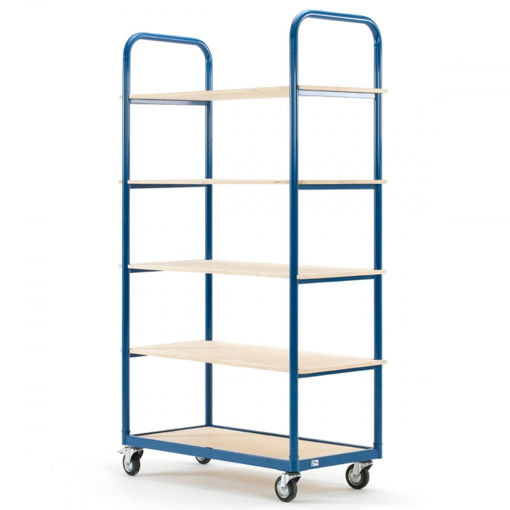 Picture of Medium Duty Platform Shelf Trolley