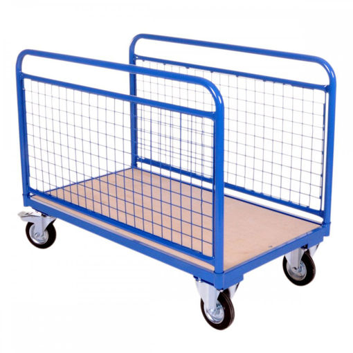 Picture of Heavy Duty Mesh Sided Platform Trolley