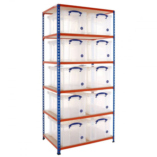 Picture of Speedy 2 Shelving With 48 Litre Capacity Really Useful Boxes
