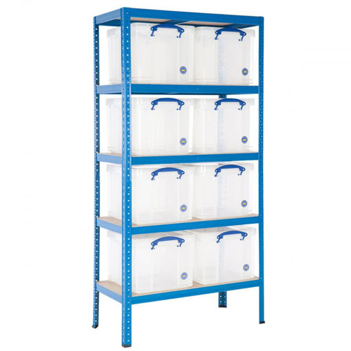 Picture of Value Shelving With 35 Litre Capacity Really Useful Boxes
