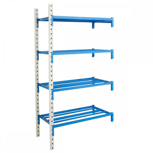 Picture of Heavy Duty Tubular Shelving Extension Bays