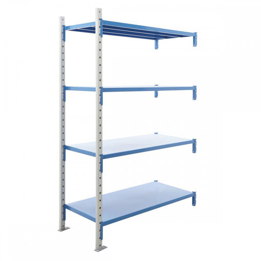 Picture of Heavy Duty Speedy Build Steel Shelving Extension Bays