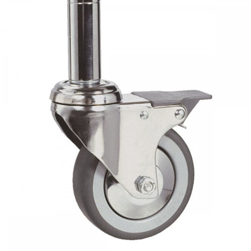 Picture of Chrome Wire Shelving Castors