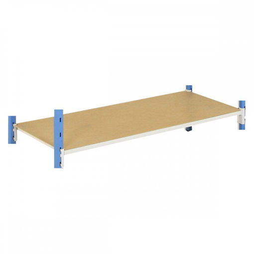 Picture of Medium Duty Tubular Shelving Pack Of 5 Hardboard Shelf Covers