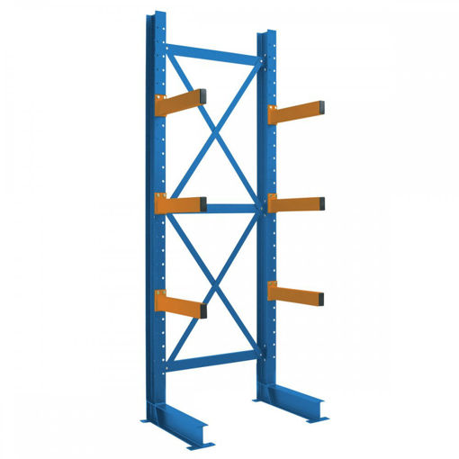 Picture of Heavy Duty Single Sided Cantilever Racking Starter Bays