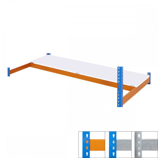 Picture of Speedy 1 Heavy Duty Shelving Melamine Extra Half Shelf Level