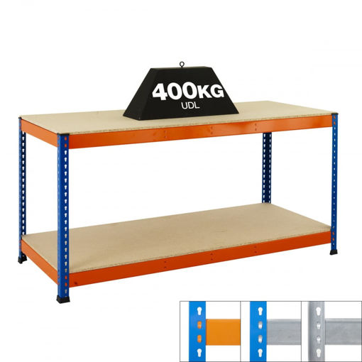 Picture of Speedy 1 Heavy Duty Workbenches 2 Level