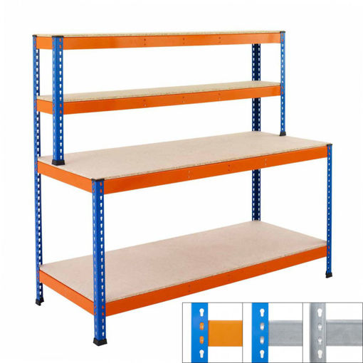 Picture of Speedy 1 Heavy Duty Workstations 4 Level