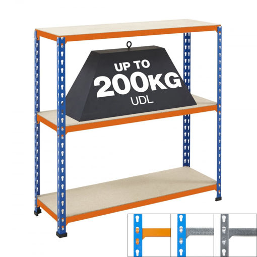 Picture of Speedy3 Garage 3 Tier Chipboard Shelving Units
