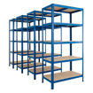 Picture of Super Saver - 4X Garage 5 Tier Metal Shelving Units