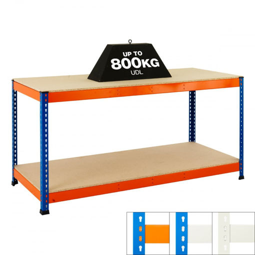 Picture of Speedy 1 Super Heavy Duty Workbenches 2 Level