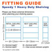 Picture of Super Saver - 2X Speedy 1 Heavy Duty Shelving Bays & 1X Speedy 1 Heavy Duty Workbench