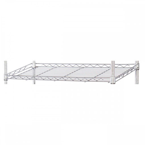 Picture of Chrome Wire Slanted Shelving Extra Levels