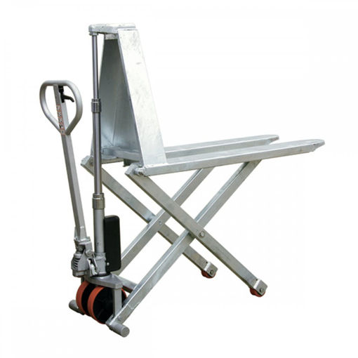 Picture of Galvanised Scissor Lift Pallet Trucks