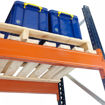 Picture of Mecalux Pallet Racking Open Timber Decking