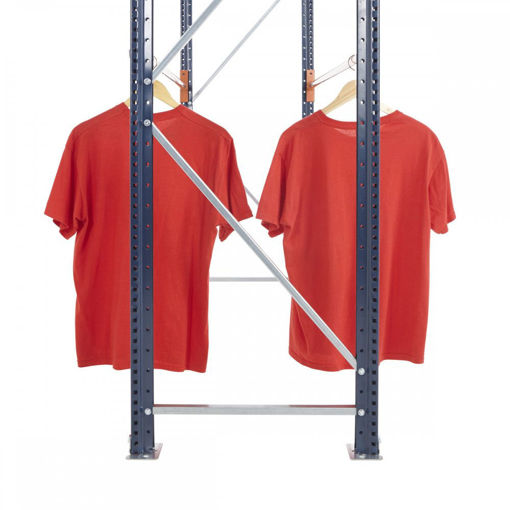 Picture of Mecalux Widespan Garment Racking Frames