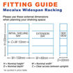 Picture of Mecalux Widespan Garment Racking Chipboard Levels