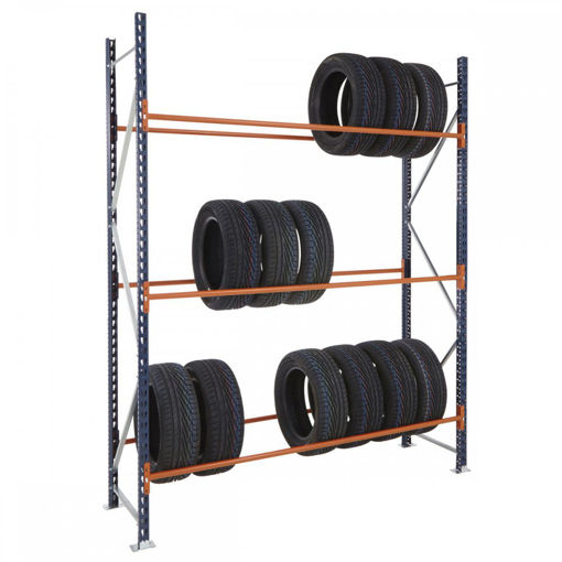 Picture of Mecalux Widespan Tyre Racking Starter Bays