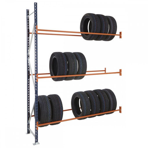 Picture of Mecalux Widespan Tyre Racking Extension Bays
