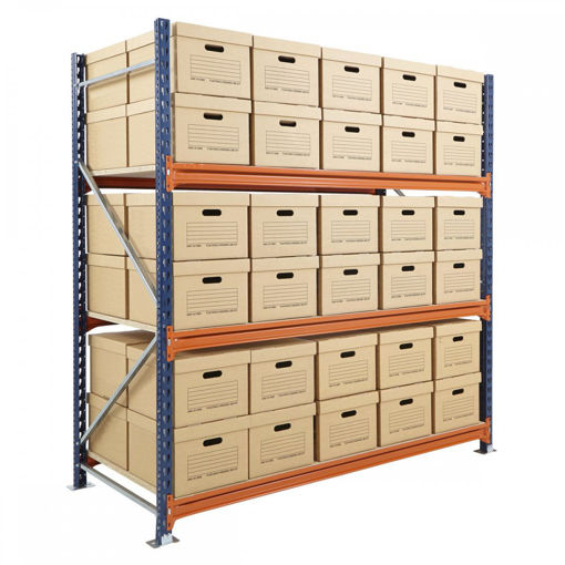 Picture of Mecalux Widespan Archive Shelving Starter Bays