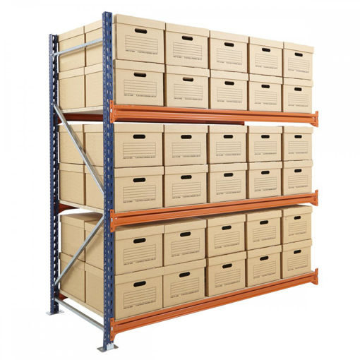 Picture of Mecalux Widespan Archive Shelving Extension Bays