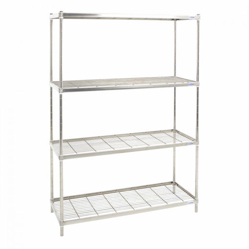 Picture of Stainless Steel Wire Kitchen Shelving