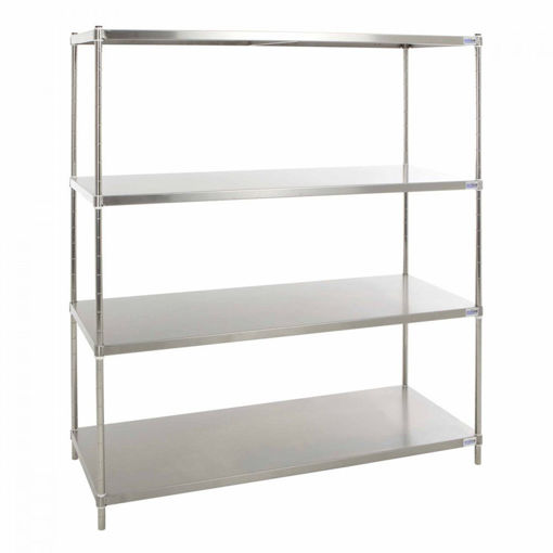 Picture of Stainless Steel Solid Kitchen Shelving