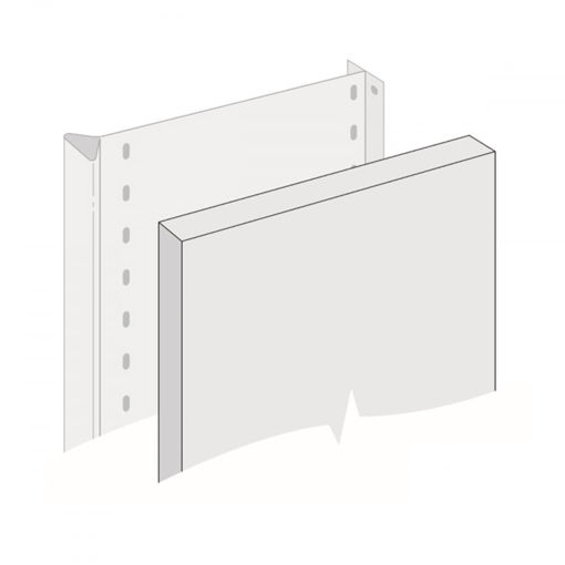 Picture of Office Shelving System End Panels
