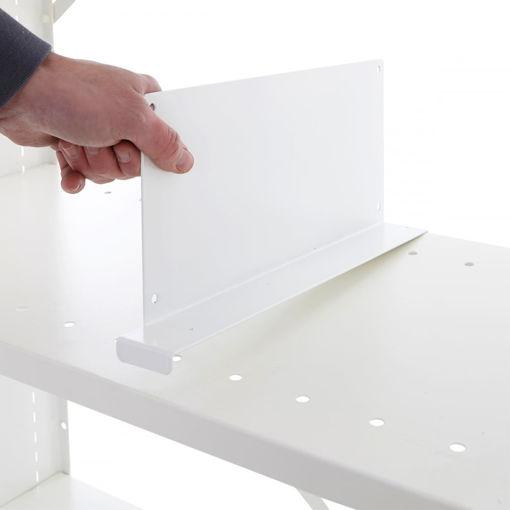 Picture of Office Shelving System Drop Over Dividers