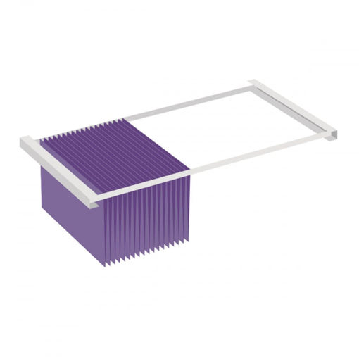 Picture of Office Shelving System Pull Out File Cradles