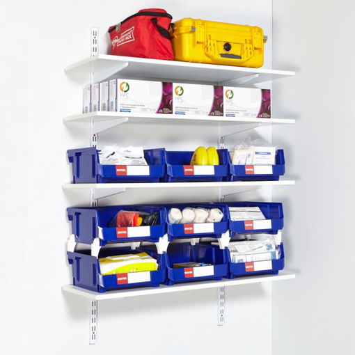 Picture of Twinslot Wall-Mounted Shelving Kits