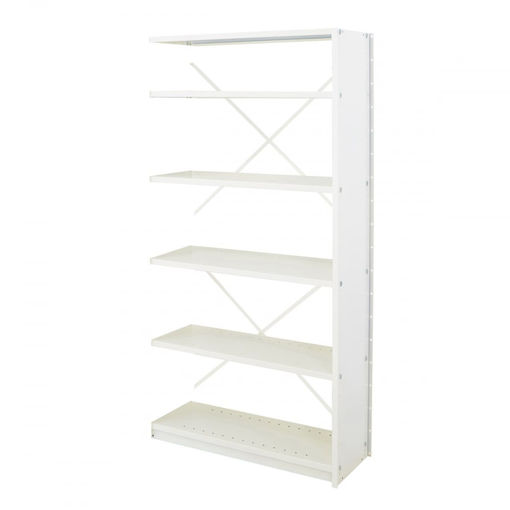 Picture of Office Shelving System Open Back Extension Bays