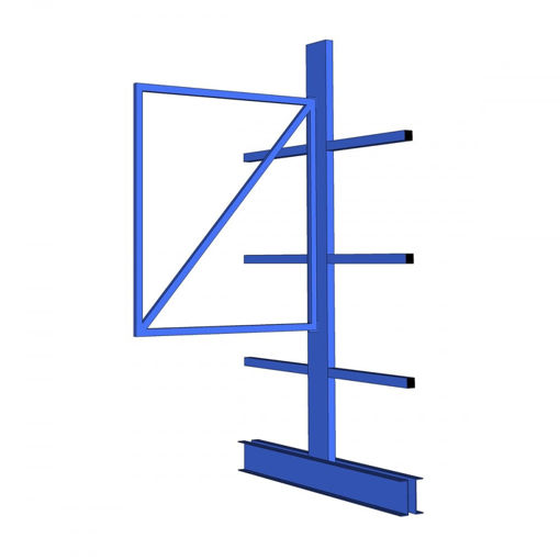 Picture of Light Duty Cantilever Racking Double Sided Extension Bays