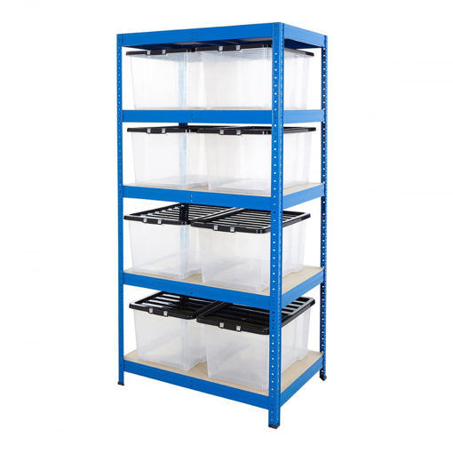 Picture of Value Box Storage Kit With 8X 50 Litre Boxes