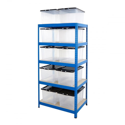 Picture of Value Box Storage Kit With 10X 50 Litre Boxes