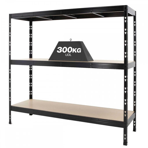 Picture of Heavy Duty 300Kg Shelving 3 Level