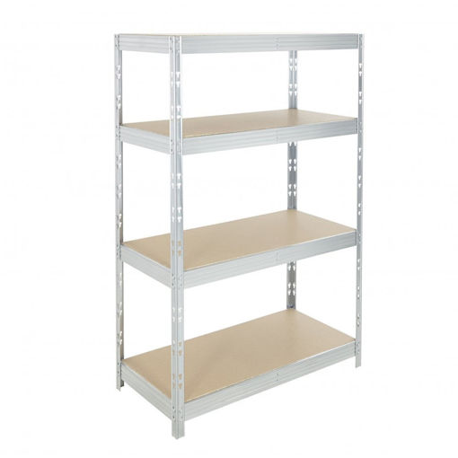 Picture of Garage 4 Tier Metal Shelving Unit