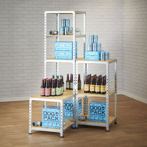 Picture of Zinc & Osb Display Shelving